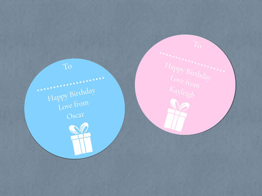 Happy Birthday Stickers | Sticker Sheet | Birthday Stickers | Birthday Gift Tags