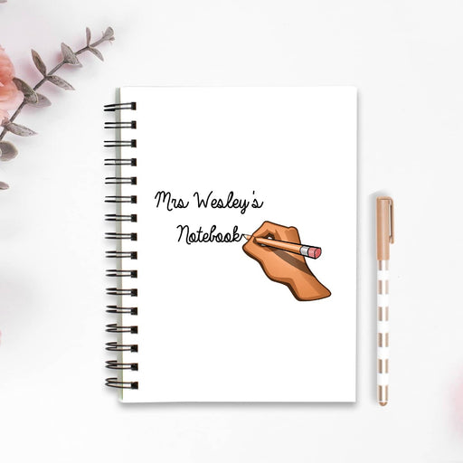 Teacher Notebook | Personalised Teacher Notebook | Teacher Planner