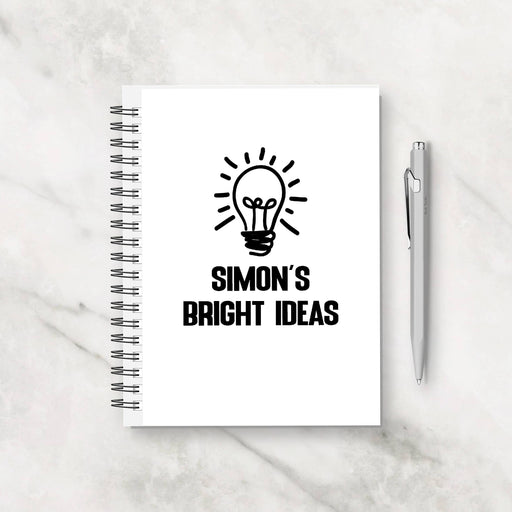 Personalised Notebook | Bright Ideas | Personalised Planner