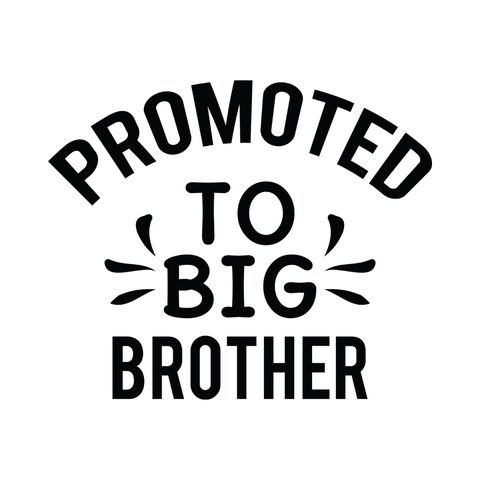 Promoted To Big Brother Sticker | *Sticker Only* | Sticker Decal