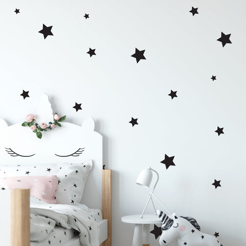 Star Wall Pattern Decal - Set of 61