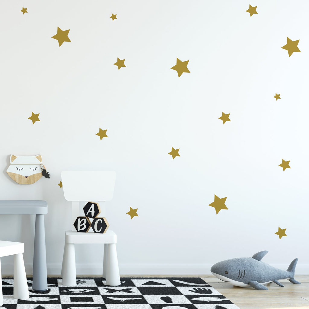 Star Wall Pattern Decal - Set of 65