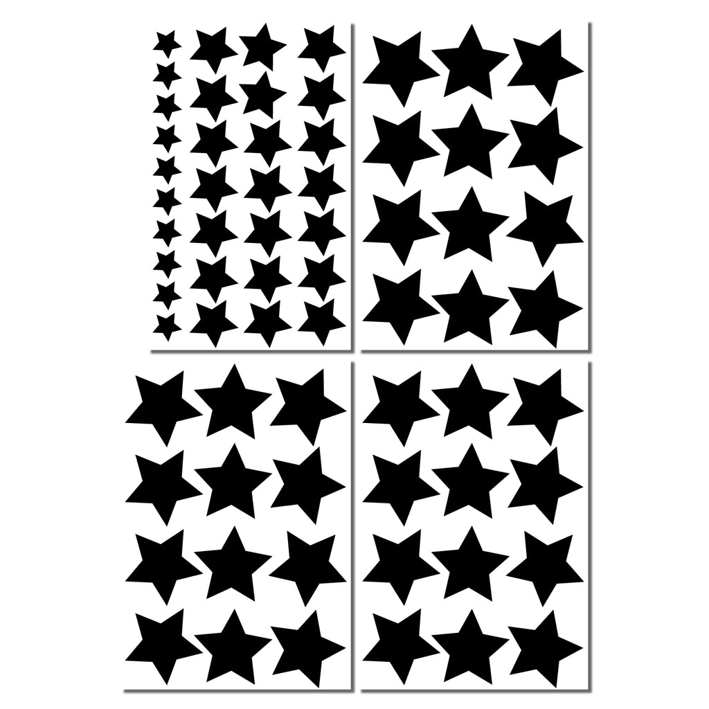 Star Wall Pattern Decal - Set of 67