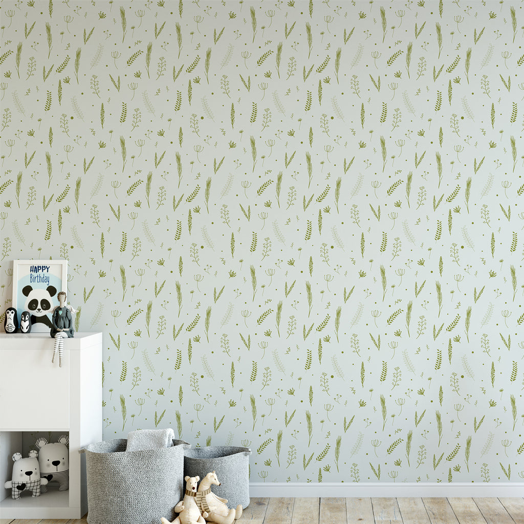 Botanical Wallpaper Sample