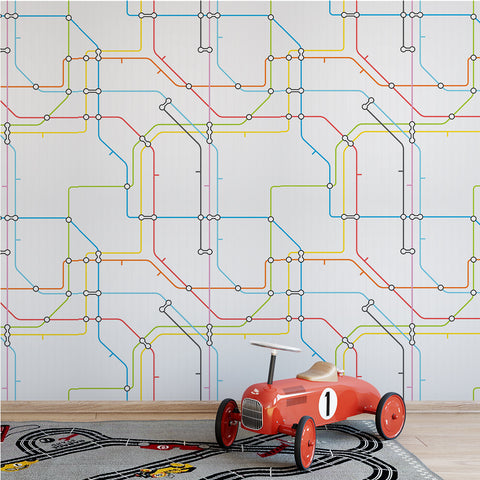 Subway Map Wallpaper