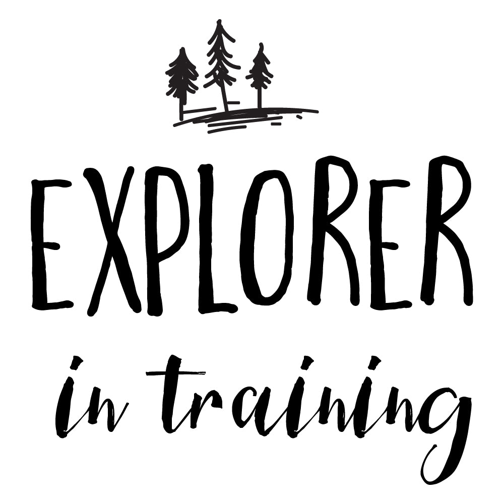 Explorer In Training Wall Sticker