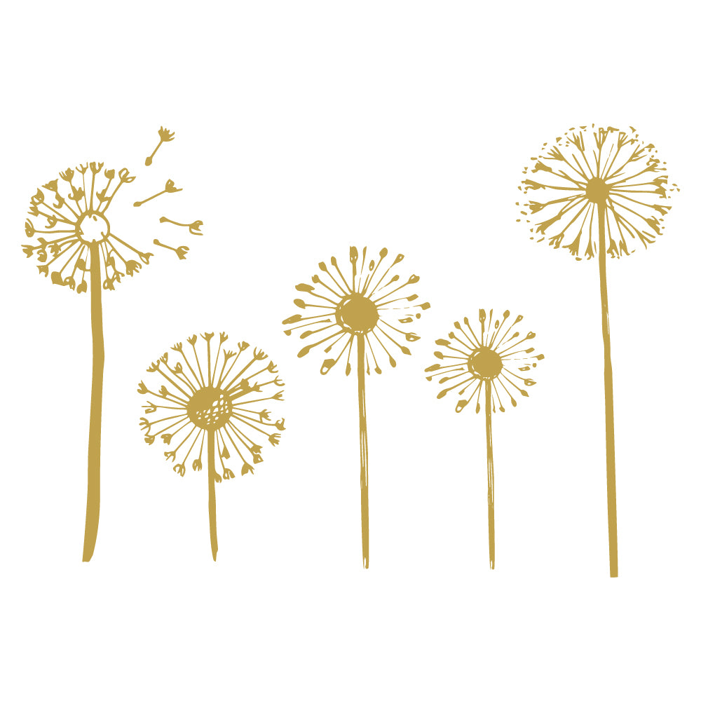 Dandelion Set Wall Sticker
