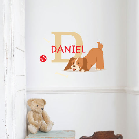 Cocker Spaniel Custom Kids Wall Sticker