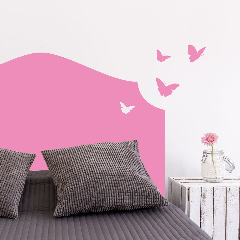 Cavendish Butterflies Headboard Wall Sticker