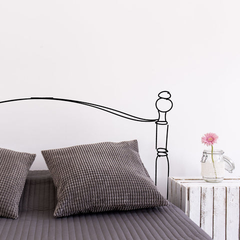 Like A Queen Headboard Wall Sticker