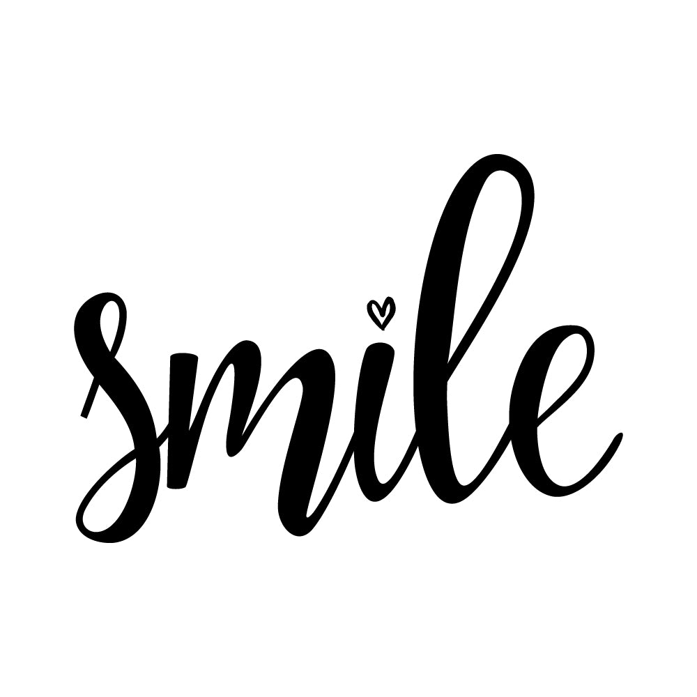 Smile Motto Sticker