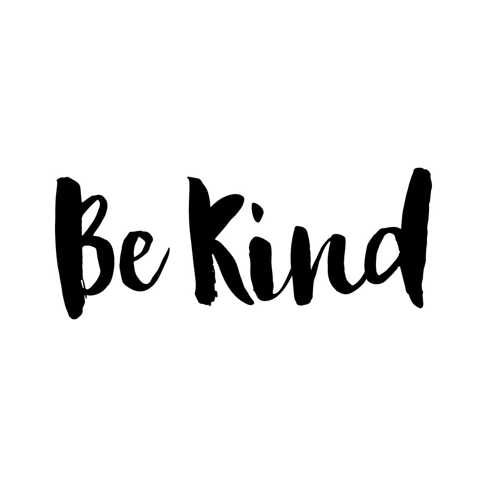 Be Kind Motto Sticker