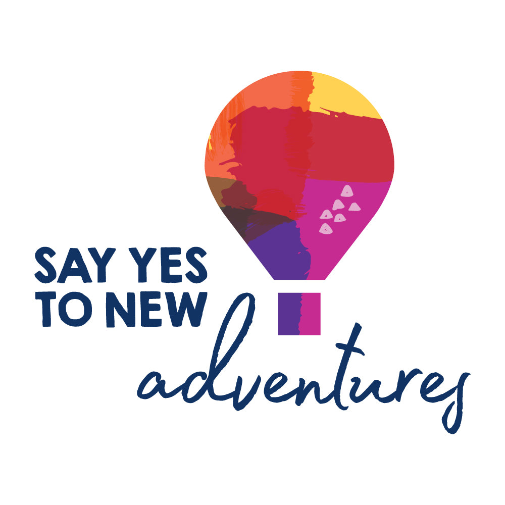 Say Yes To New Adventures Wall Sticker