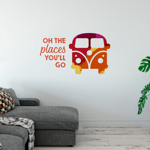 Oh The Places You Will Go Wall Sticker