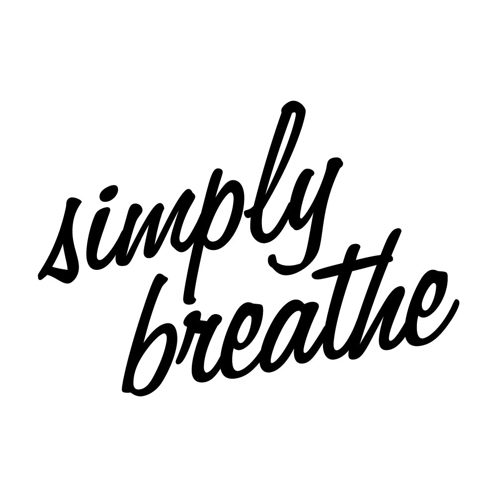 Simply Breathe Wall Sticker