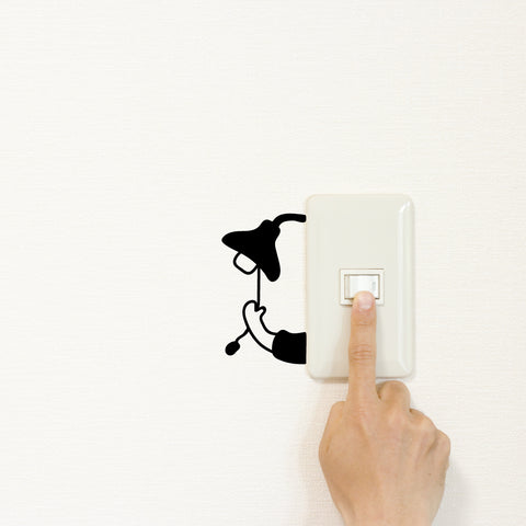Lamp Light Switch Decal Sticker