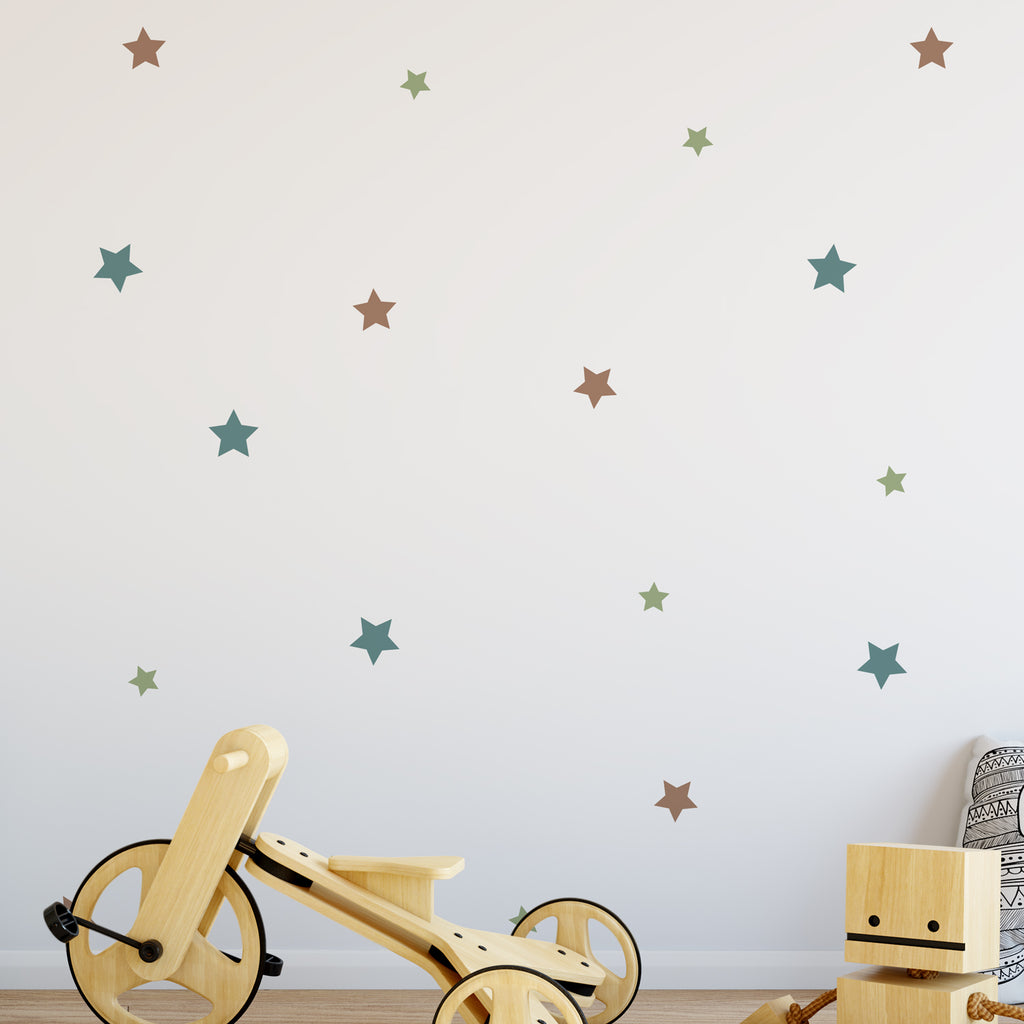 Stars Colour Pattern Decal