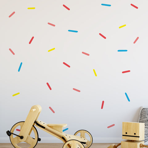 Sprinkles Pattern Decal - Set of 37