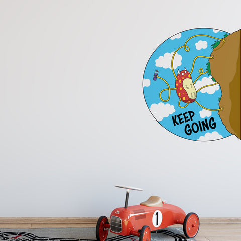 Keep Going Wall Sticker
