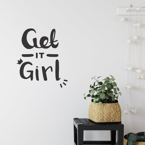 Get It Girl Wall Sticker
