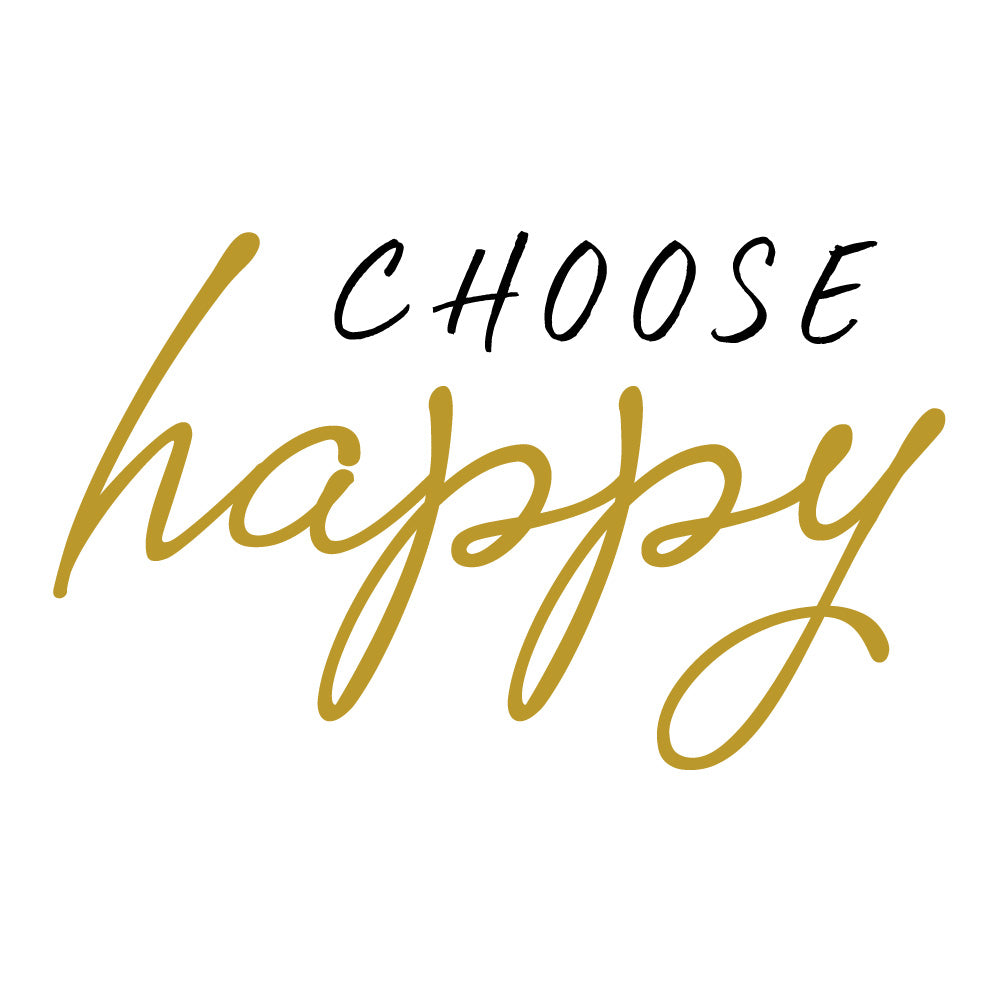 Choose Happy Wall Sticker