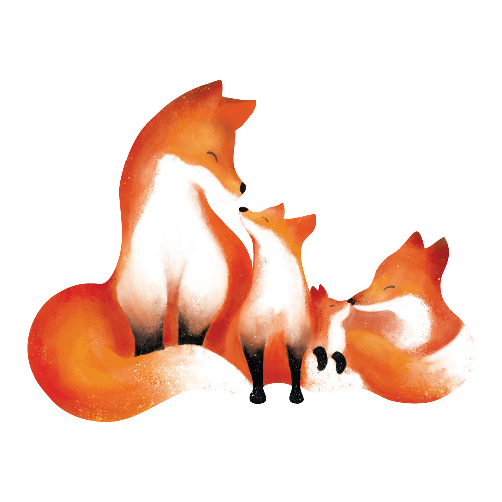 Fox Sweet Innocence Wall Sticker