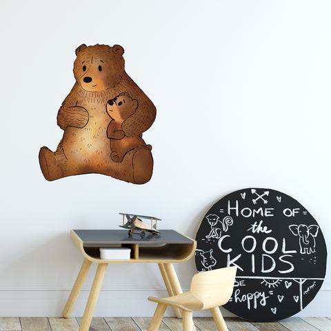 Bear Woodlands Collection Wall Sticker