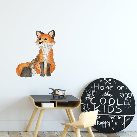 Fox Woodlands Collection Wall Sticker