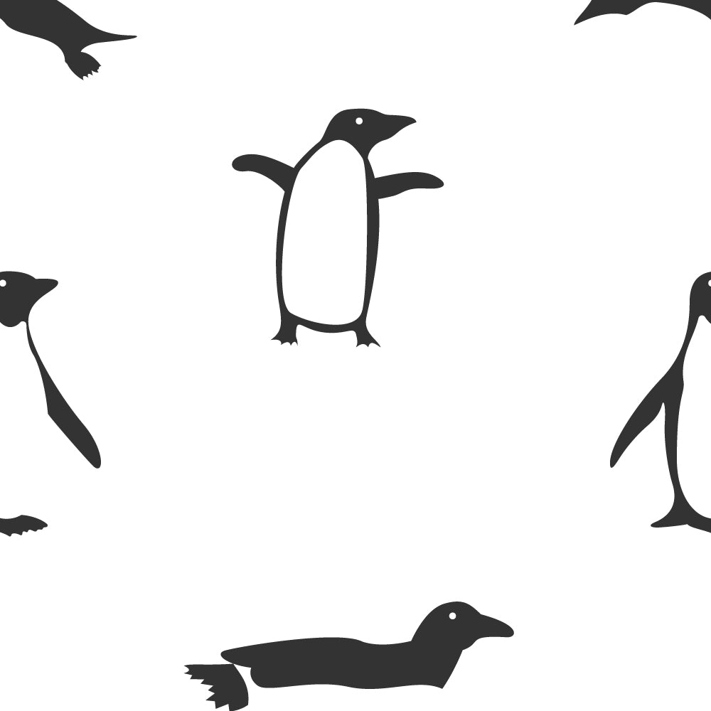 Cheerful Penguins Wallpaper