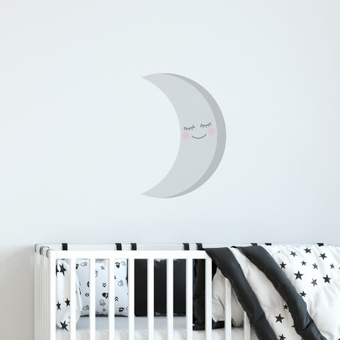 Crescent Moon Wall Sticker