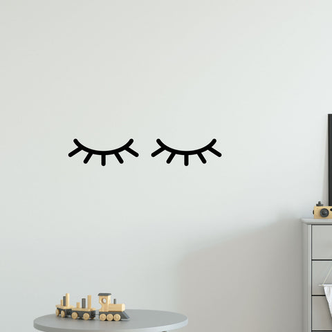 Eyelashes Wall Sticker