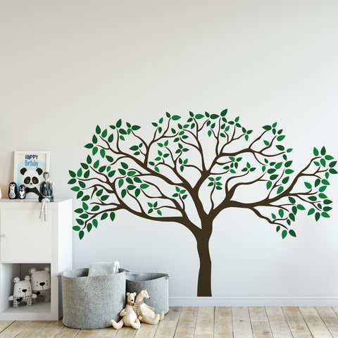 Tree Nursery Greenery Wall Sticker