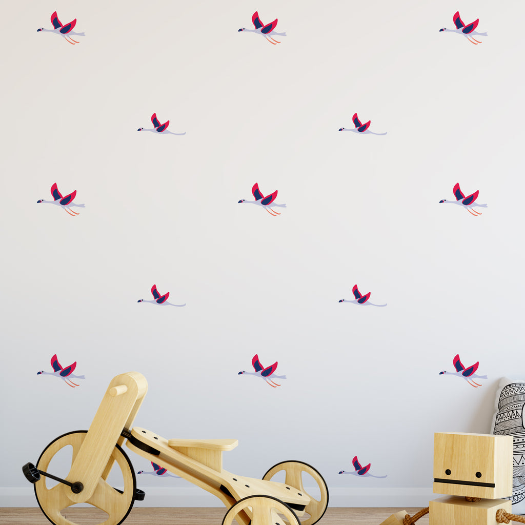 Flying Geese Pattern Decal - Set of 20