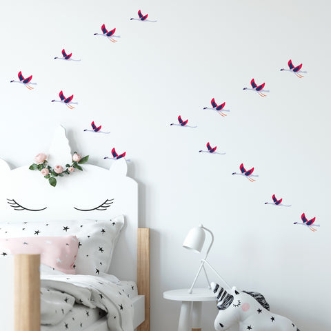 Flying Geese Pattern Decal