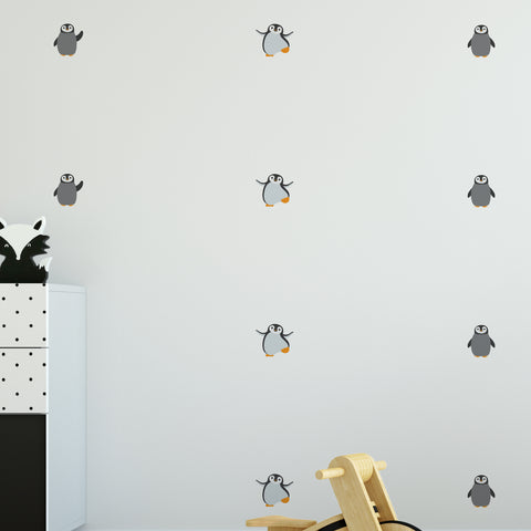 Penguin Pattern Decal - Set of 24