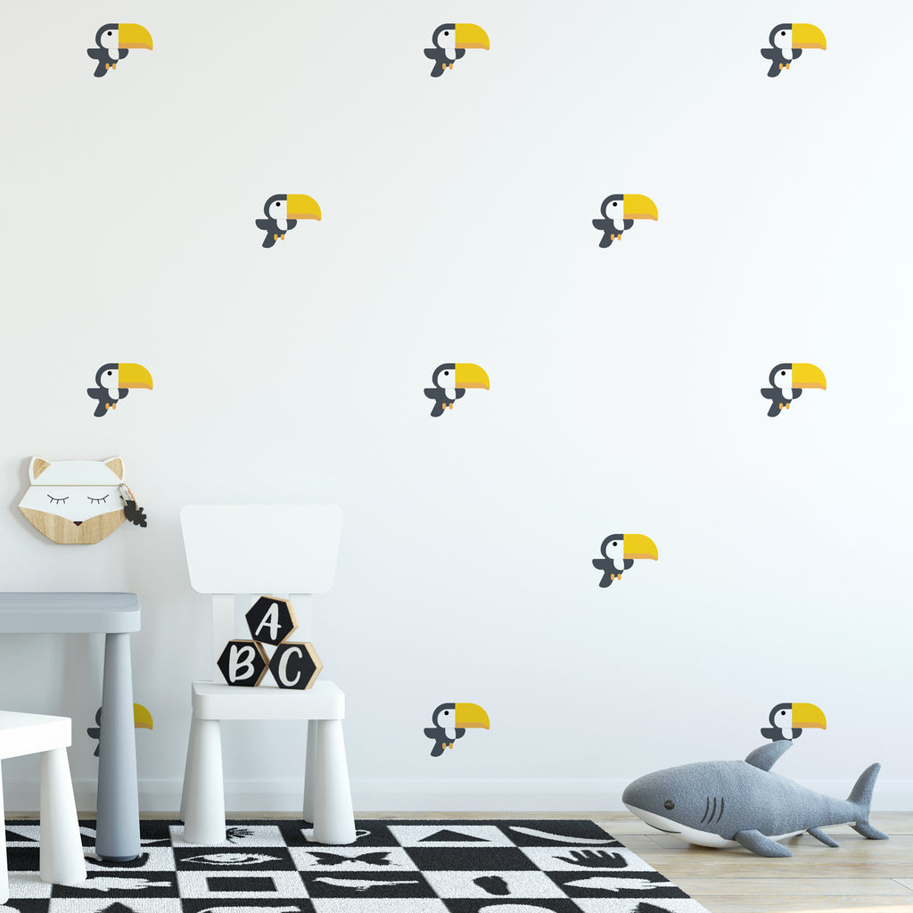 Toucan Pattern Decal
