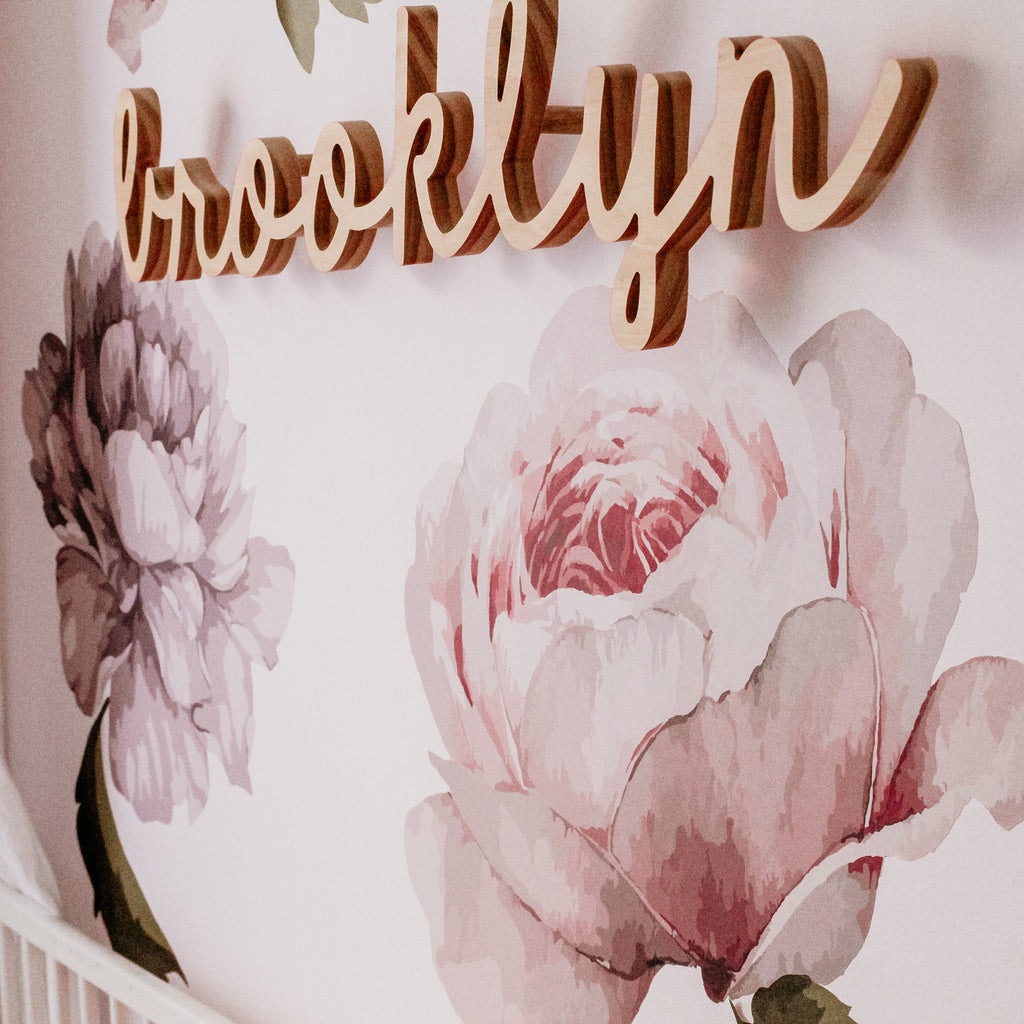 Peonies & Roses Floral Collection Wall Sticker