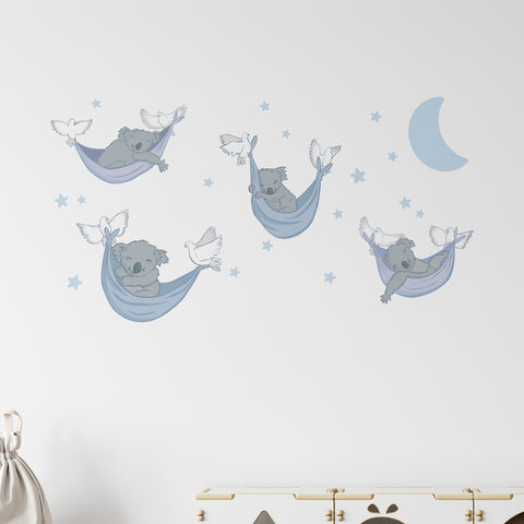 Sleepy Koalas Wall Sticker