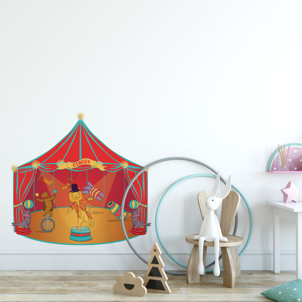 Animal Circus Wall Sticker