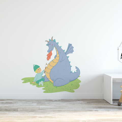 Dragon Camp Wall Sticker