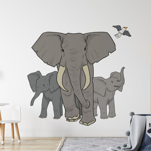 Elephant Pride Safari Collection Wall Sticker