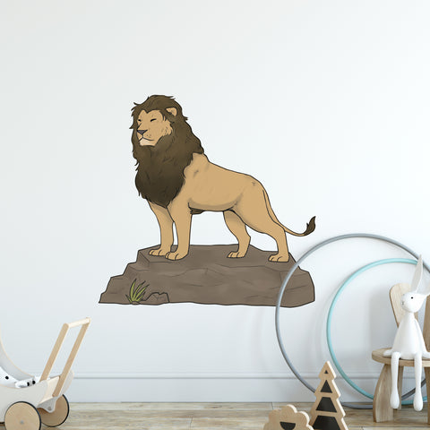 Lion Safari Collection Wall Sticker