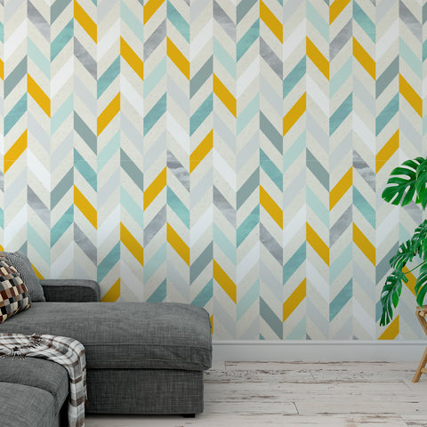 Chevron Paper Texture Wallpaper