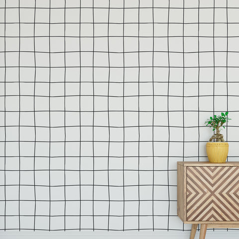 Line Grid Wallpaper