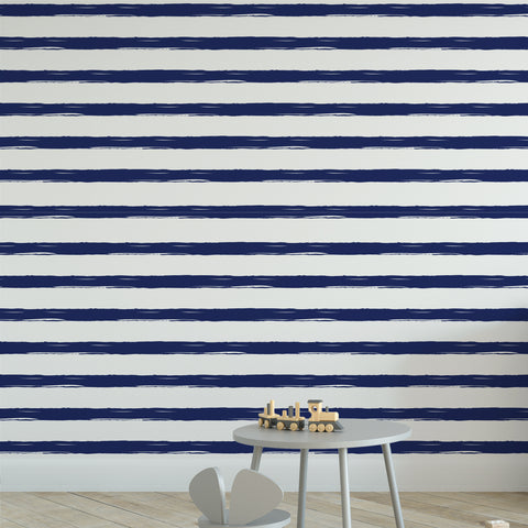 Nautical Stripes Wallpaper
