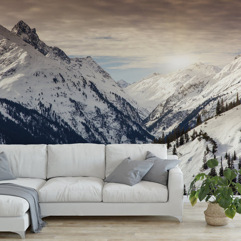Mountain Alps Wall Mural