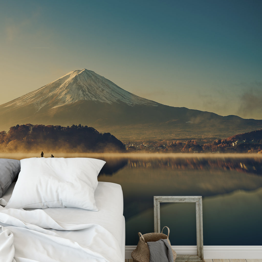 Mountain Reflection Wall Mural