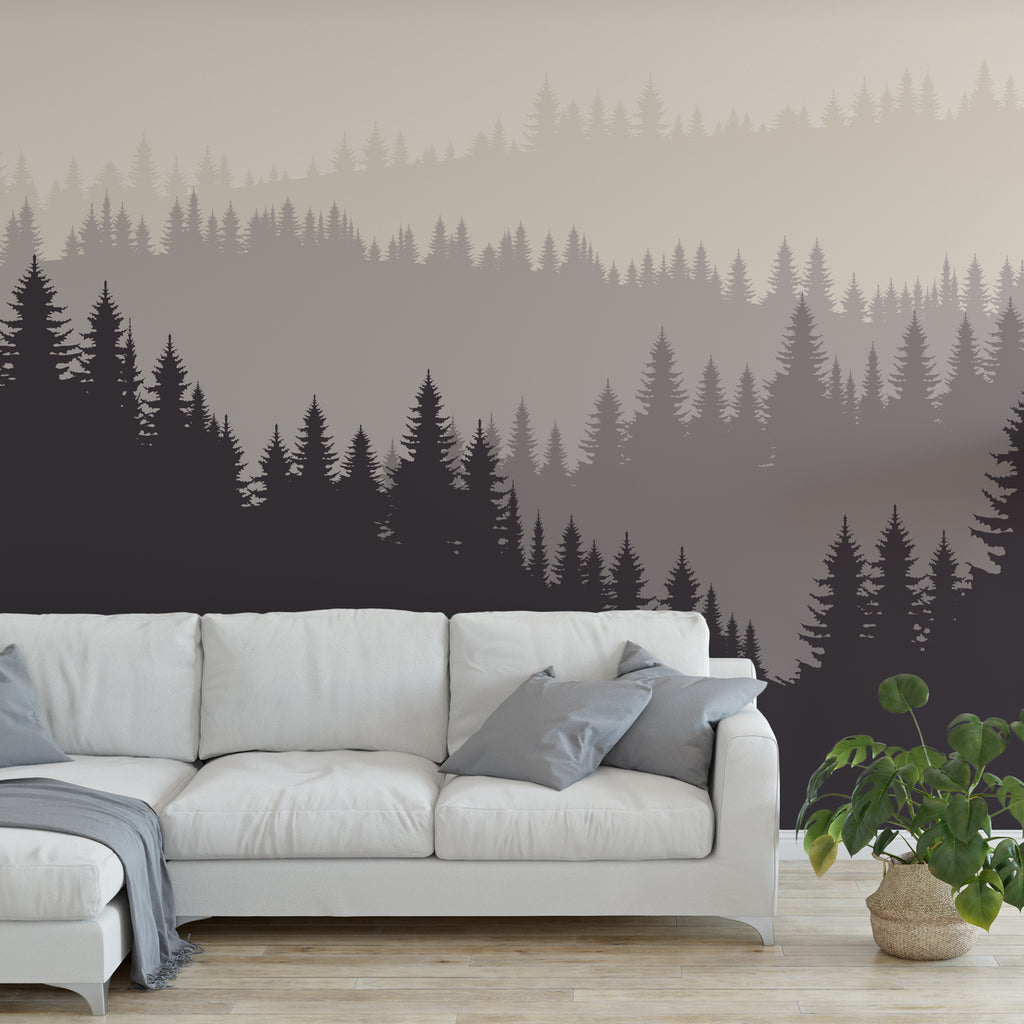 Dark Forest Wall Mural