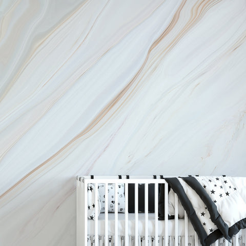 Light Marble Wall Mural