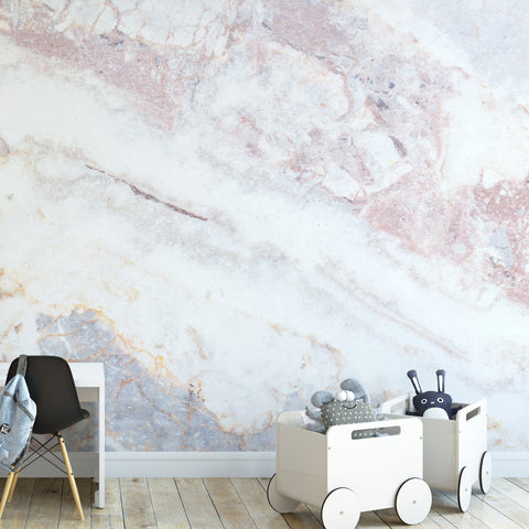 Pastel Marble Wall Mural